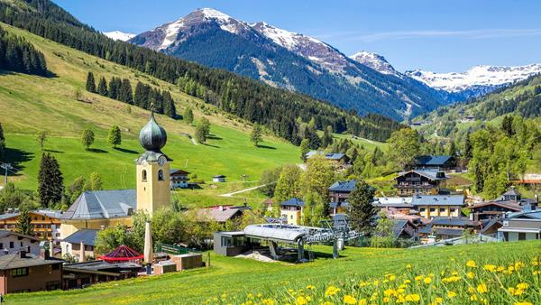 Summer in the Austrian Alps