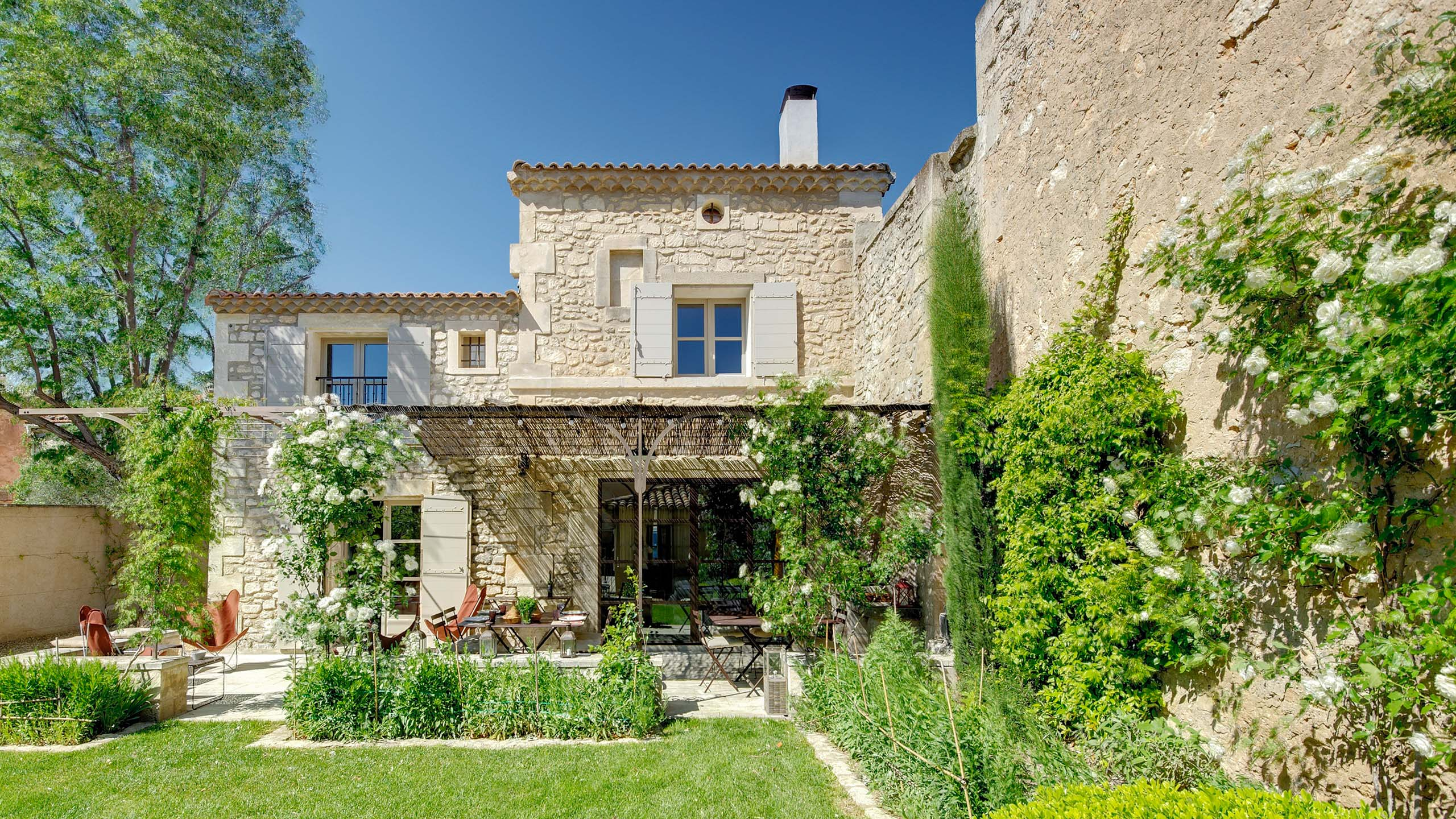 Plan De Maison Mas De Provence la maison de maussane   a&k villas